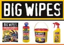 Dove non c'è acqua c'è la forza pulente di BIG WIPES.