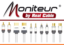 Moniteur by Real Cable - Cavi audio e video di alta qualità con garanzia a vita