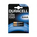 PILA DURACELL ULTRA SPECIALISTICA - 2 PILE AAAA MN2500